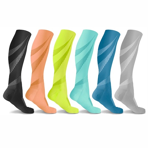 6 pair of compression socks (Elite)