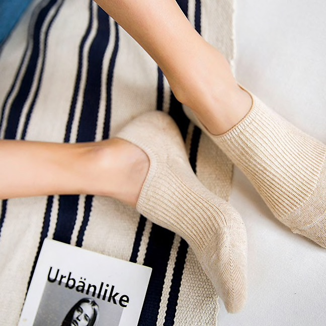 Breathable bamboo socks