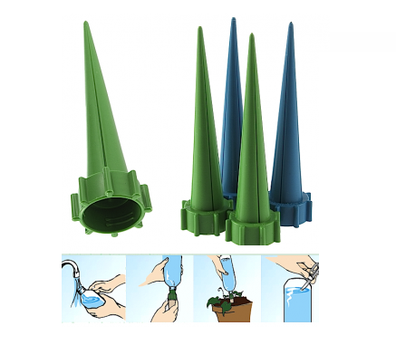 Unika Automatic Flower Watering (4-pack) : Sparnets.com GD-91