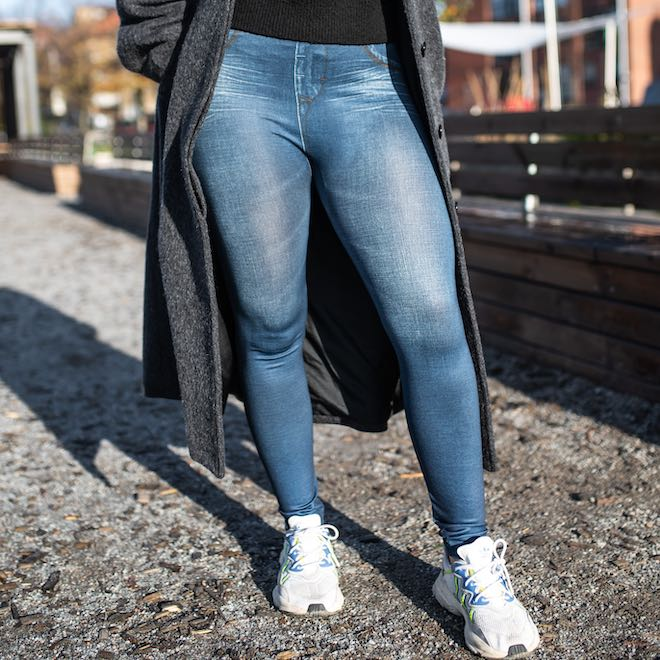 Jeans Tights with high waist