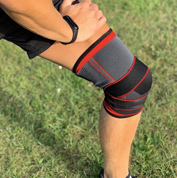 Adjustable knee-support with compression - Elite (1 pair)