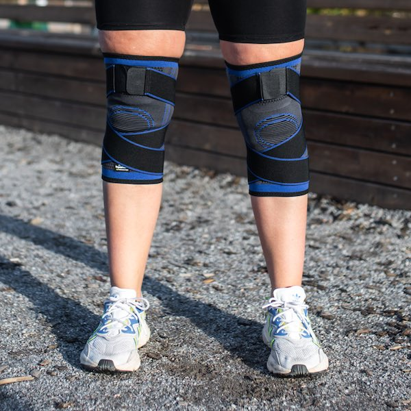 Adjustable knee-support