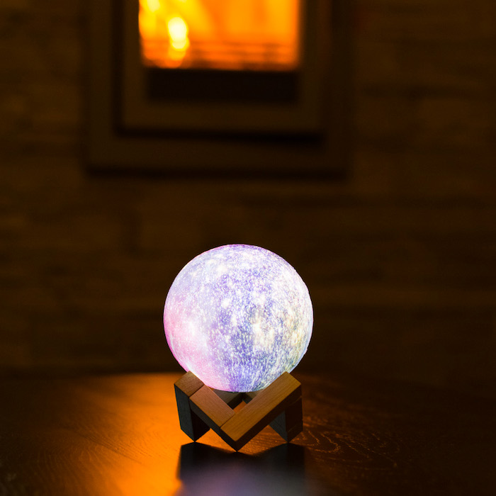 Night light Moon 3D