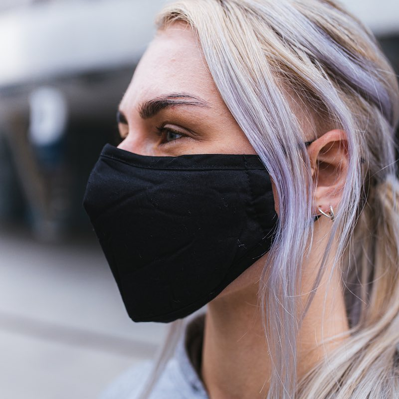 Face Mask - PM2.5 + 2 filter