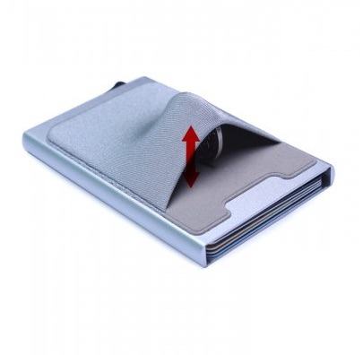 Cardholder with RFID-protection